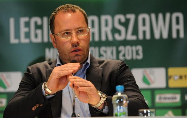 Bogusław Leśnodorski, prezes Legii Warszawa /Bartłomiej Zborowski /PAP
