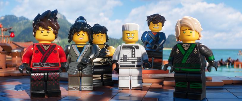Bohaterowie LEGO Ninjago Film /materiały prasowe