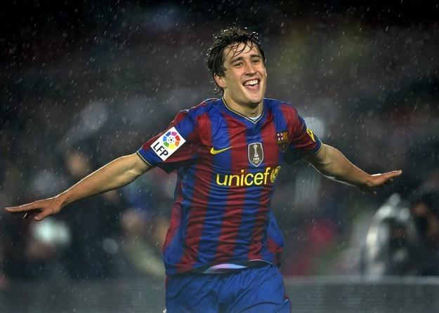 Bojan Krkic przedłużył kontrakt z Barceloną /AFP