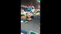 Bójka na placu targowym. Poszło o... owoce