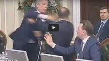 Bójka ukraińskich parlamentarzystów