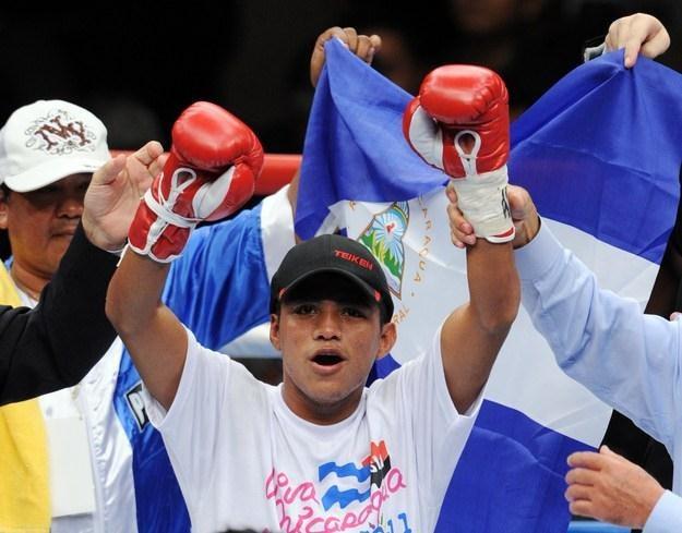 Bokser z Nikaragui Roman Gonzalez /AFP