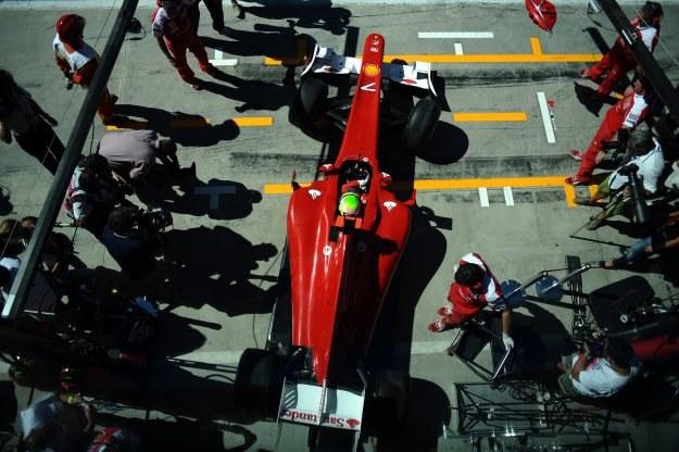 Bolid Ferrari Felipe Massy /AFP