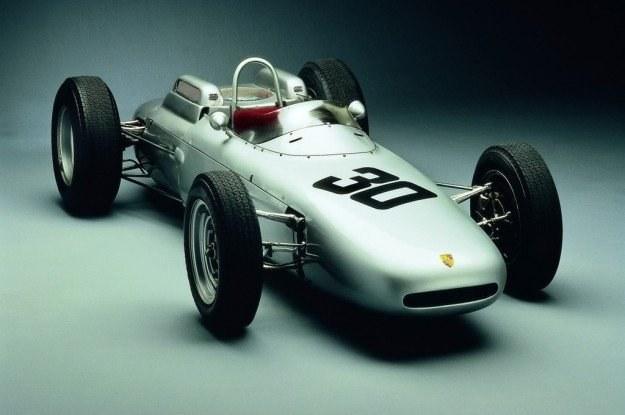 Bolid Formuły 1 porsche 804 z 1962 roku /