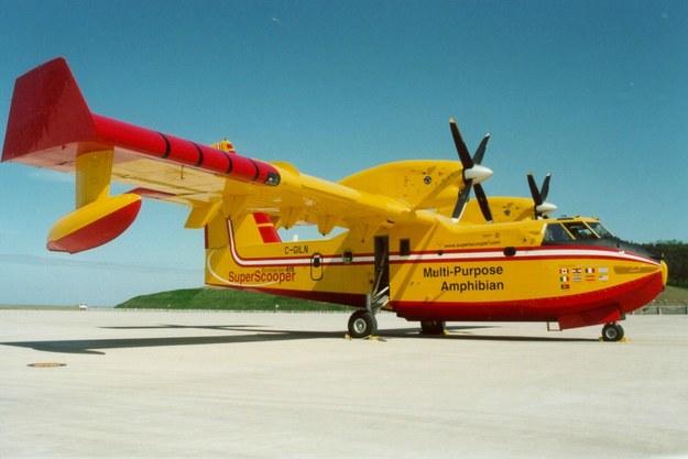 Bombardier produkuje m.in. latajęce amfibie. Fot. inf pras. /&nbsp
