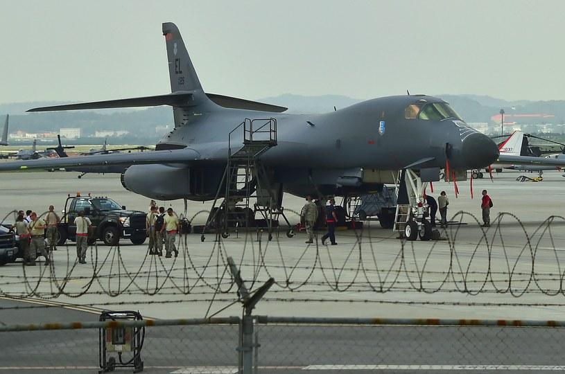Bombowiec B-1B /JUNG YEON-JE /AFP