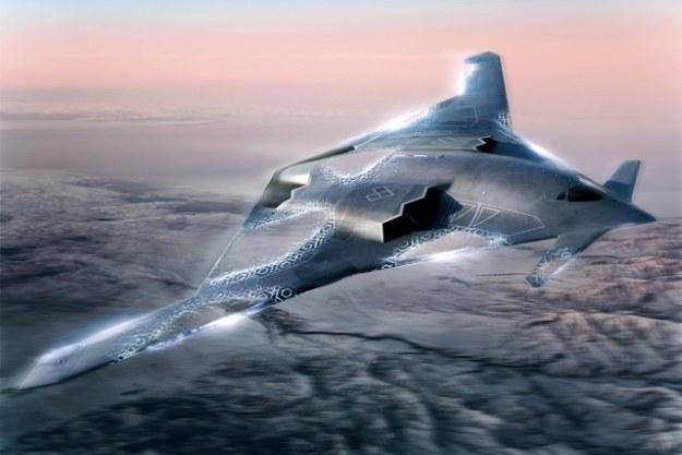 Bombowiec nowej generacji - wizualizacja.  Fot. kollected.com /materiały prasowe