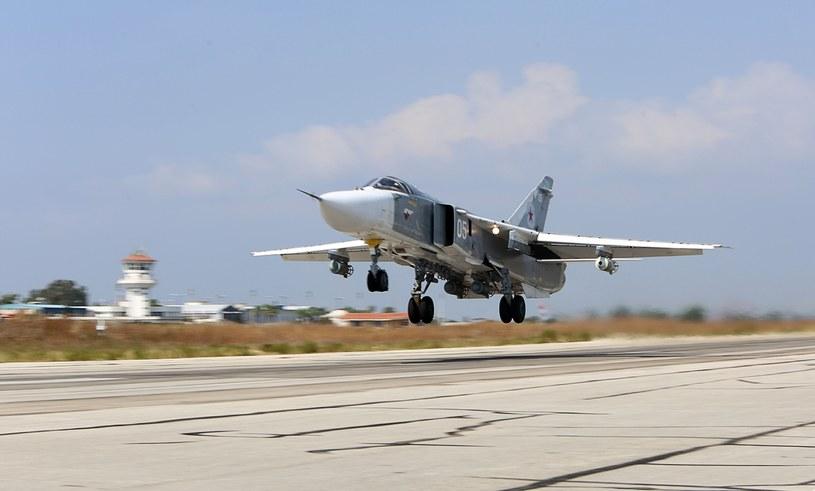 Bombowiec Su-24 /AFP