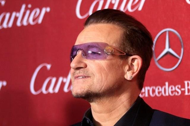 Bono - lider U2 /NINA PROMMER    /PAP/EPA