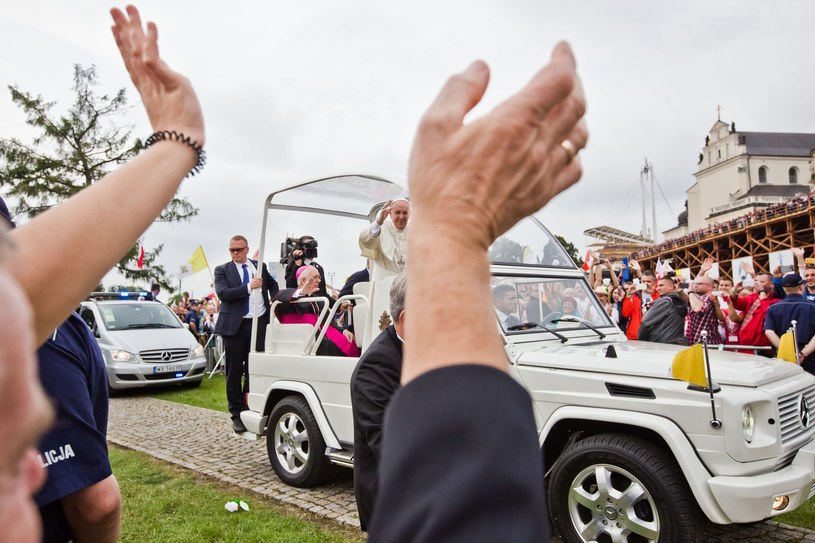 BOR-owcy zabezpieczali wizytę papieża w Polsce /Jarosław Respondek /Reporter