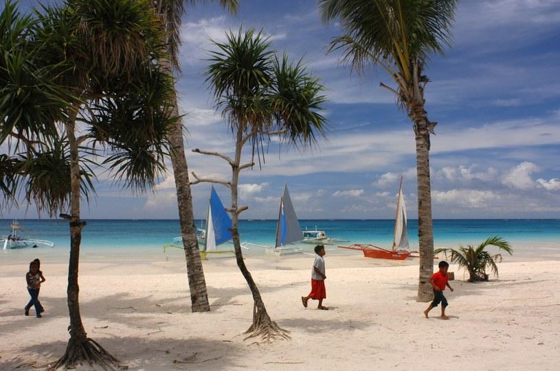 Boracay to najsłynniejsza filipińska wyspa, znana z pięknych plaży /Sergi Reboredo /East News