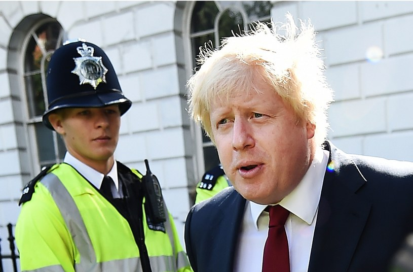 Boris Johnson /ANDY RAIN /PAP/EPA