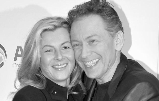 Borkowski z żoną /- /AKPA