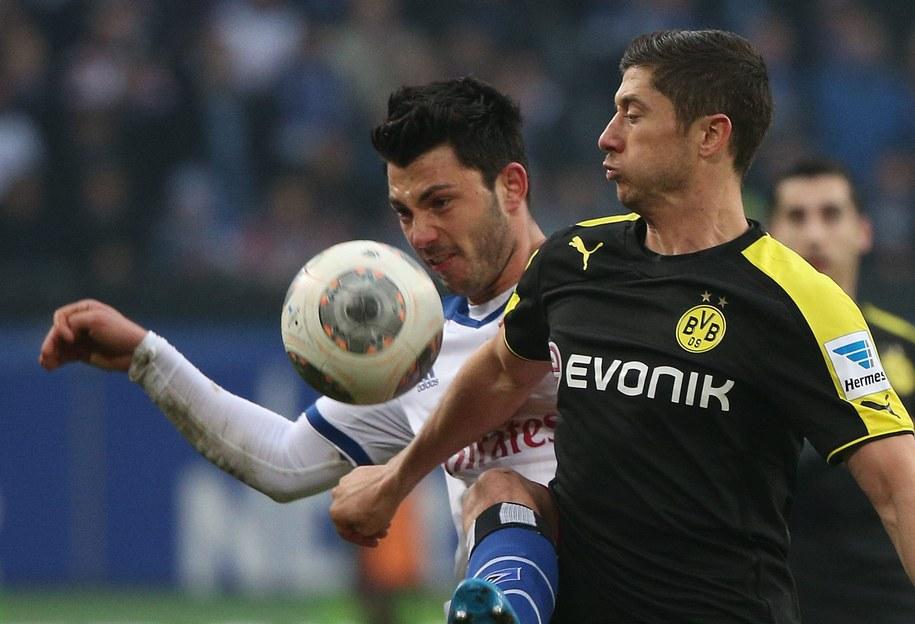 Borussia Dortmund rozpoczyna walkę o awans do ćwierćfinału Ligi Mistrzów /Axel Heimken /PAP/EPA
