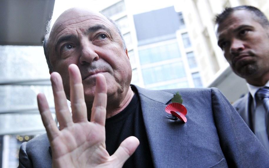 Borys Bieriezowski zmarł w 2013 roku / ANDY RAIN    /PAP/EPA