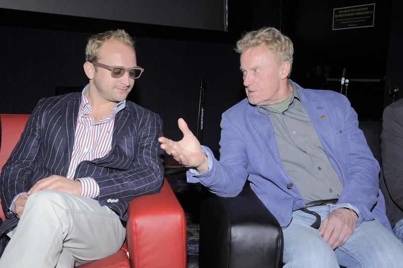 Borys Szyc i Daniel Olbrychski znają się od 20 lat /Tricolors /East News