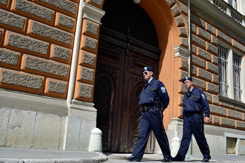 Bośniaccy policjanci /AFP