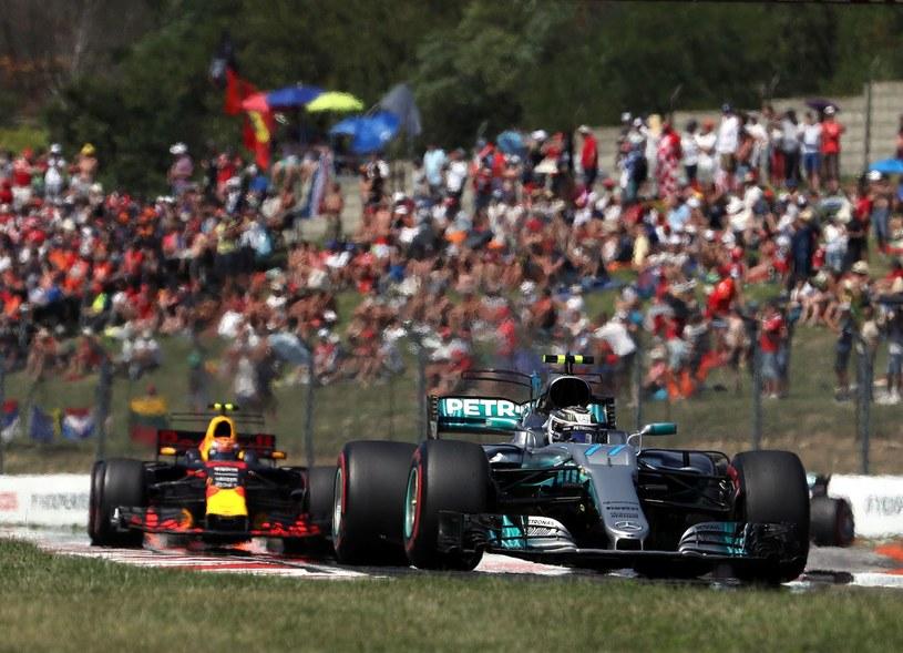 Bottas na Węgrzech zajął trzecie miejsce /AFP