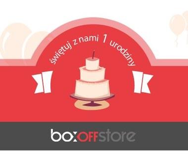 BoxoffStore obchodzi pierwsze urodziny. Mamy konkurs z tej okazji!