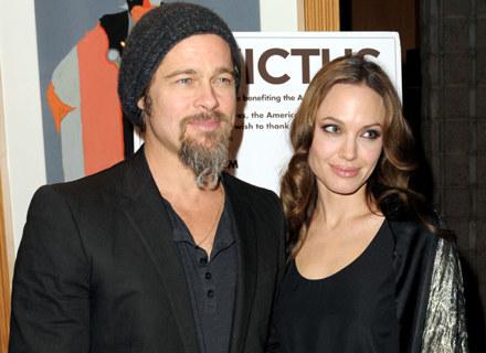Brad Pitt i Angelina Jolie będą teraz celem włoskich fotoreporterów / fot. Kevin Winter /Getty Images/Flash Press Media