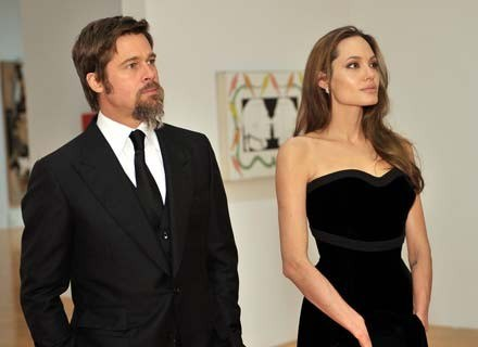 Brad Pitt i Angelina Jolie zaprojektowali biżuterię /Getty Images/Flash Press Media