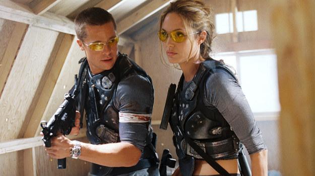 Brad Pitt i Angelina Jolie /    /Polsat