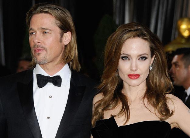 Brad Pitt i Angelina Jolie /- /Getty Images/Flash Press Media