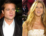 Brad Pitt i Jennifer Aniston /