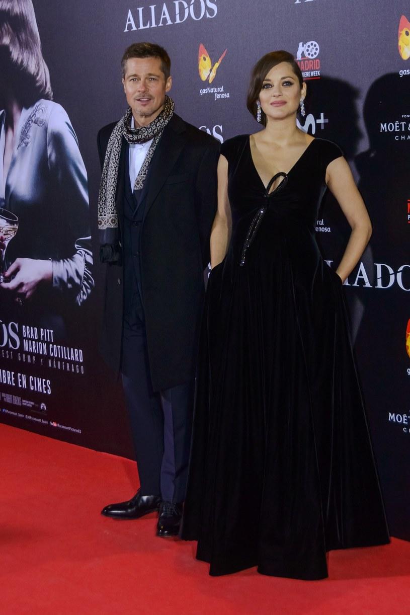 Brad Pitt, Marion Cotillard /East News