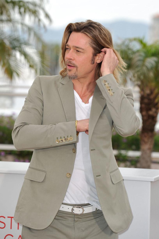 Brad Pitt /- /Getty Images/Flash Press Media