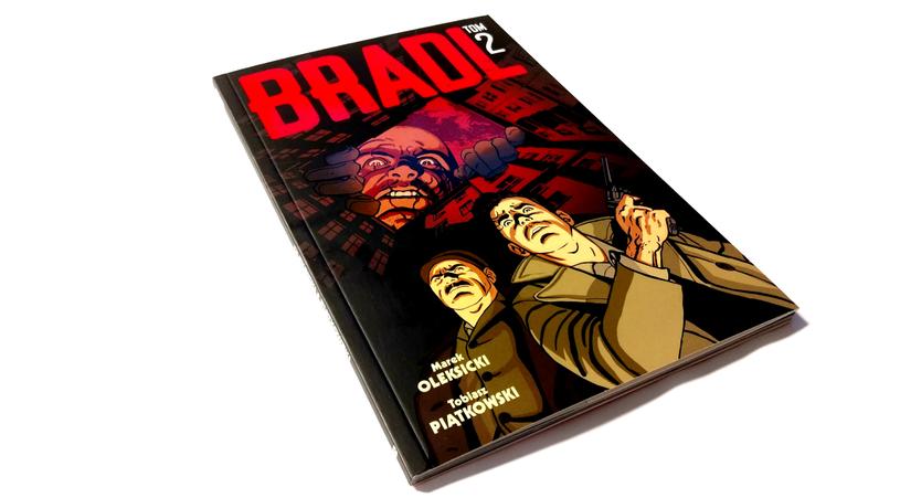 """""""Bradl"""" tom 2 - polecamy! /materiały prasowe"""
