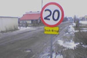 Brak drogi w Dobrzykowicach!