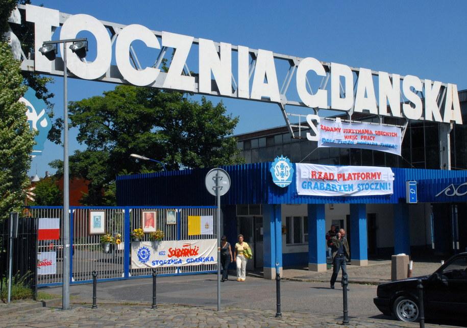 Brama Stoczni Gdańskiej /PAP/Stefan Kraszewski  /PAP