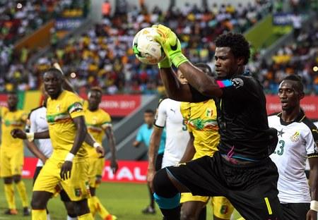 Bramkarz Ghany ukarany za krytykę kibiców