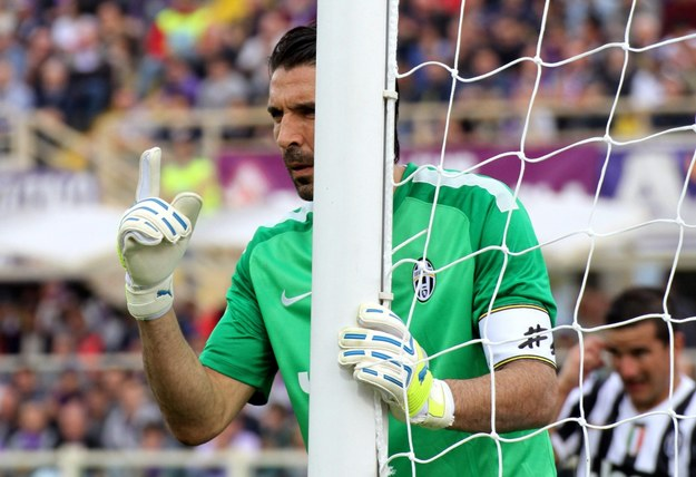 Bramkarz Juventusu Turyn Gianluigi Buffon /PAP/EPA