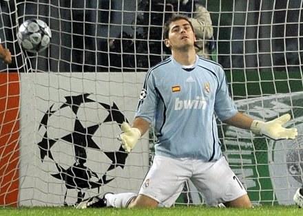 Bramkarz Realu Madryt Iker Casillas /AFP
