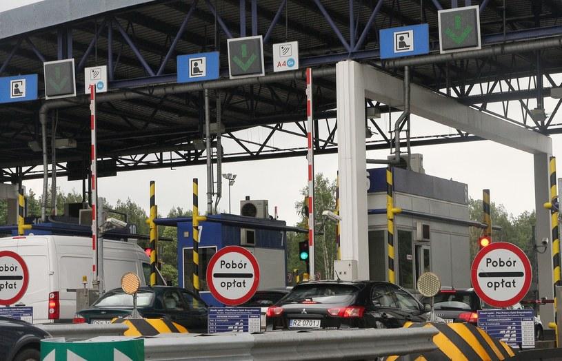 Bramki na A4 w Balicach pod Krakowem / Fot: Monkpress /East News