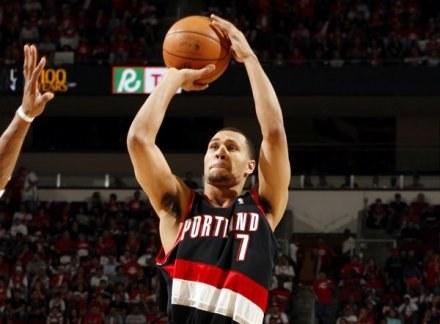 Brandon Roy i jego koledzy są prawdziwym objawieniem ostatnich tygodni w NBA /AFP