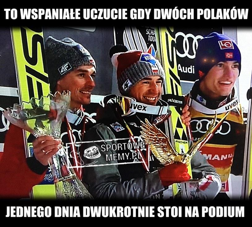 Brawo panowie! /Sportowememy.pl /Internet