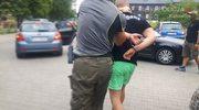 Brawurowe zatrzymanie 20-letniego kibola z Katowic
