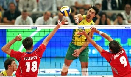 Brazylia pokonała Rosję w turnieju finałowym Ligi Światowej 2007 /AFP