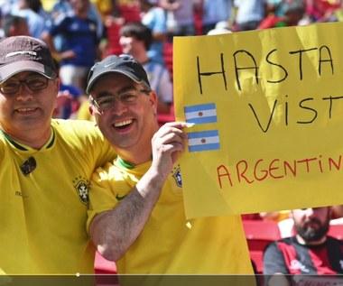 Brazylijczycy chcą utrudnić awans Argentynie. Wideo