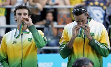 Brazylijczycy Emanuel i Ricardo trzykrotnie triumfowali w Starych Jabłonkach /AFP