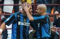 Brazylijczyk Adriano strzelił dwie bramki dla Interu. Inter - Udinese 3:1 /AFP