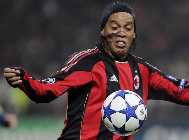 Brazylijczyk Ronaldinho /AFP