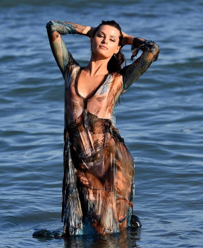 Brazylijska modelka Isabeli Fontana /ETTORE FERRARI /PAP/EPA