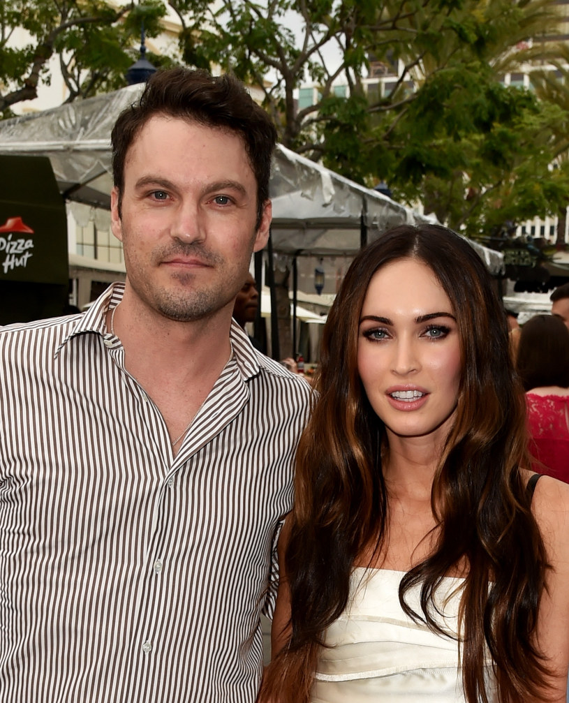 Brian Austin Green i Megan Fox /Kevin Winter /Getty Images
