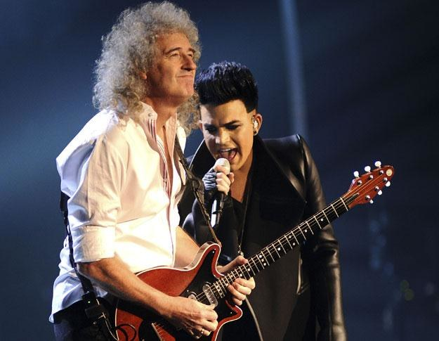 Brian May i Adam Lambert przypomną we Wrocławiu hity Queen fot. Ian Gavan /Getty Images/Flash Press Media