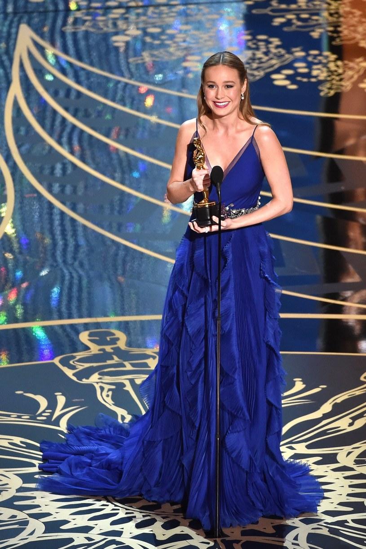 Brie Larson odbiera Oscara /AFP