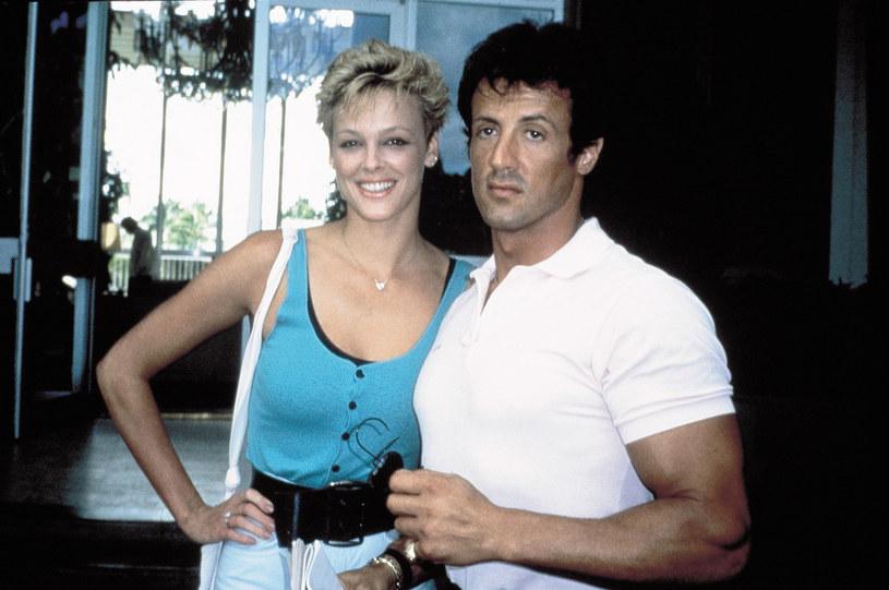 Brigitte Nielsen i Sylvester Stallone /East News